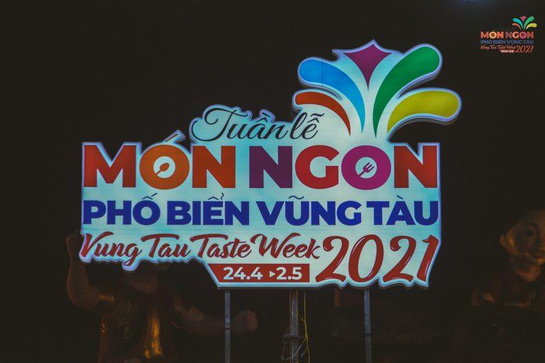 OPENING CEREMONY VUNG TAU TASTE WEEK 2021  24/04/2021