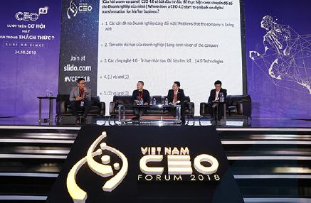 VIETNAM CEO FORUM 2018 – SURF OR SINK